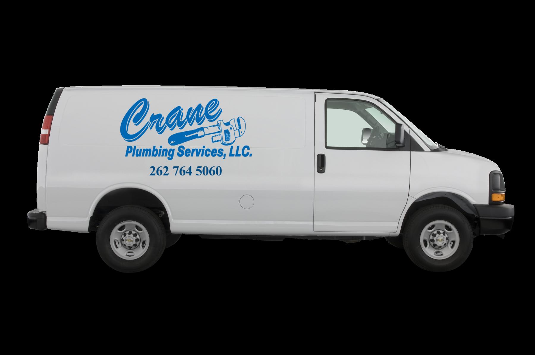 Crane-Plumbing-Van-with-Logo